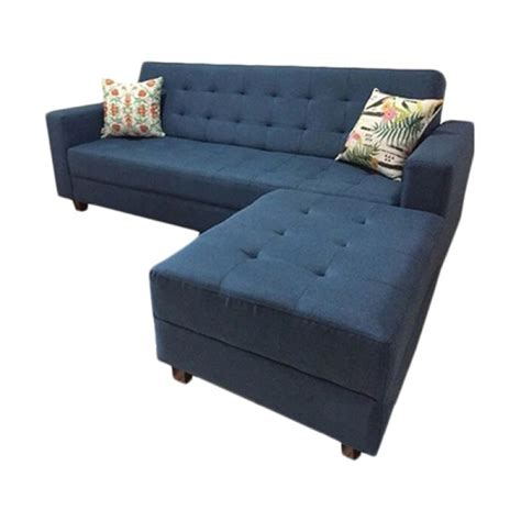 jual prissilia kenzo sofa  blue  juli  bliblicom