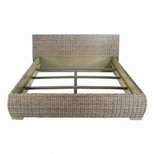 Lit adulte en kubu 160x200 cm zago store for Tapis couloir avec canapé osier rotin 2 places