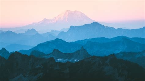 wallpaper mountains cascade range mountain range north