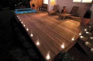 Terrassenbeleuchtung Boden Led : 17 tipps f r holz boden belag im garten oder auf der terrasse ~ Sanjose-hotels-ca.com Haus und Dekorationen