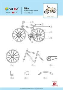 3D Pen Stencil Templates