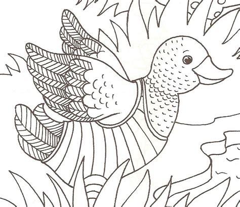 dibujos de patos  pintar dibujos de patos  colorear