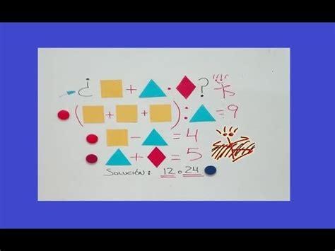 Conceptos , ejemplos , ejercicios , sugerencias , preguntas y problemas resueltos de razonamiento lógico matemático. Juego matemático - YouTube Insecto Palo - ca bing bong
