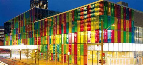 color glass colored glass at the palais des congr 232 s paul housberg