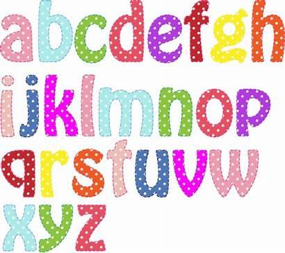 Lowercase Alphabet Colorful Vectors Clipart Domain Premium