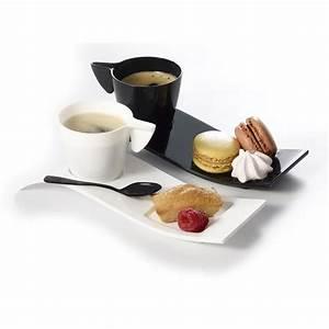 Service Tasse à Café : 8 kits cafe gourmand tasse 10cl et vague noires achat ~ Teatrodelosmanantiales.com Idées de Décoration