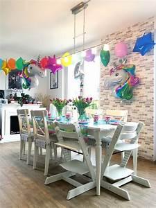 Kindergeburtstag Kuchen Deko Ideen : ideen kindergeburtstag eine bunte einhorn party ~ Yasmunasinghe.com Haus und Dekorationen