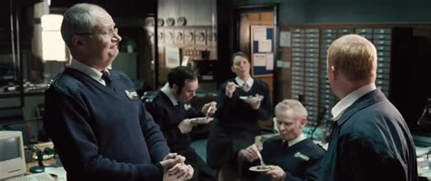 phrases from hot fuzz yarn yes sir why is everybody eating chocolate cake