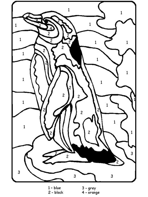Coloring Pages Animals by Penguins 4 Animals Coloring Pages Coloring Book