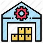 Inventory Icon Warehouse Icons Factory Premium Inventario