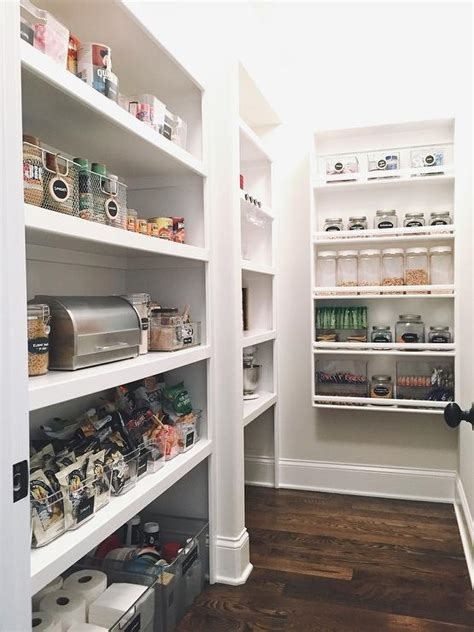 U Shaped Kitchen Pantry with Modular Shelves