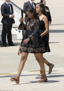 ( 11 Photos) Sasha Obama  La Fille De Barack Obama A Du