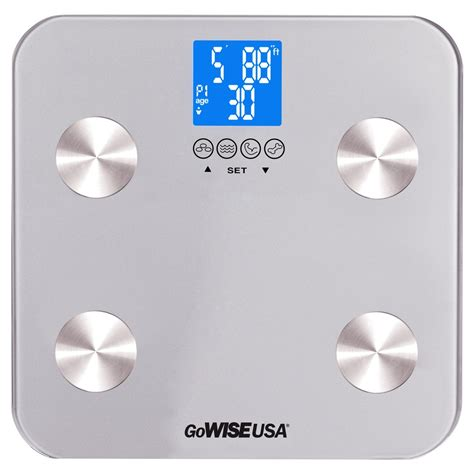 body fat scale fda approved silver gw gowise usa