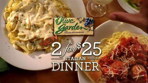 olive garden dinner olive garden tv for 2 for 25 italian dinner