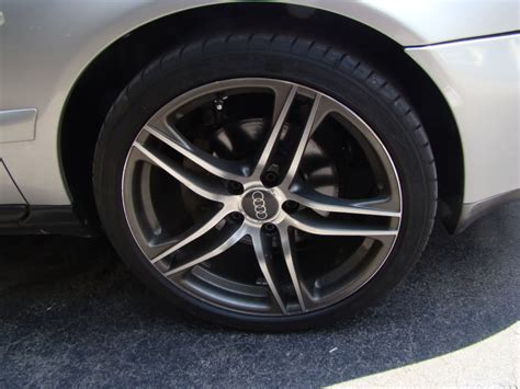 Audi R8 Replica Wheels 225/40/18, Goodyear Eagle