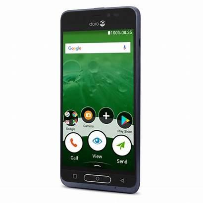 Doro 8035 Smartphone 4g Gb Donkerblauw Emploi