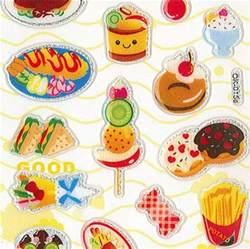 Cute Kawaii Food Stickers