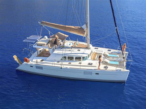 Catamaran Sailboat by Ecclesia Catamaran Crewed Charters Luxury Private