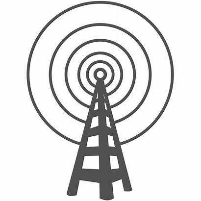 Radio Tower Clip Clipart Transparent Background Antenna