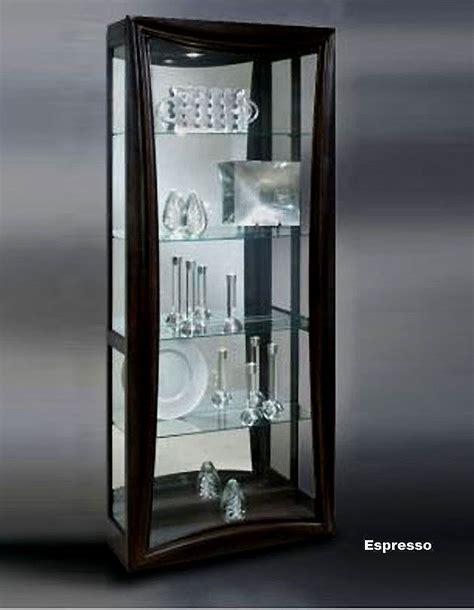 espresso curio cabinet curio cabinet in espresso modern curios