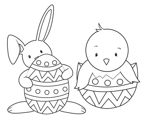 Coloring Easter Pages by 15 Easter Colouring In Pages The Organised
