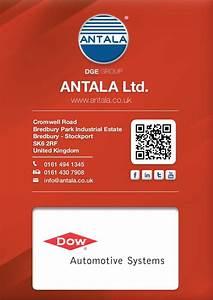 Dow Automotive Antala Ltd  Uk  Product Brochure