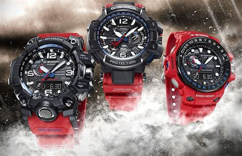 GShock Master of G Rescue Red Series Gulfmaster