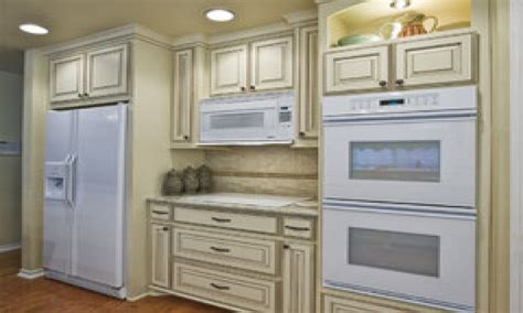 off white kitchen cabinets antique white kitchen cabinets with white appliances off