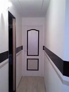 Deco Couloir Blanc : deco noir et blanc couloir ~ Zukunftsfamilie.com Idées de Décoration