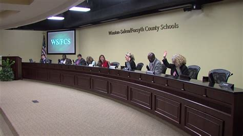 snow days excused winston salemforsyth county board