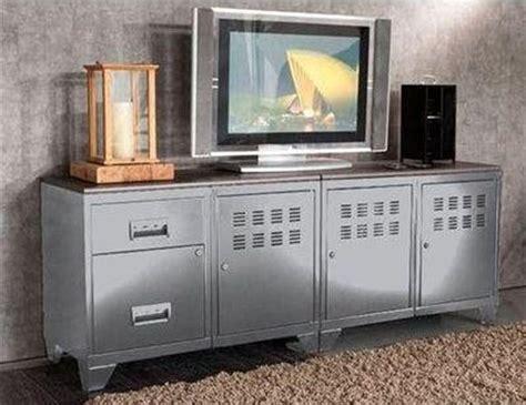 meuble de t 233 l 233 vision m 233 tal alu phsa prix promo meuble tv la redoute 429 00 meubles pas cher