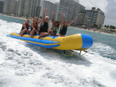 Boat Ride Rental by Exciting Banana Boat Rides Tours In Fort Lauderdale Fl