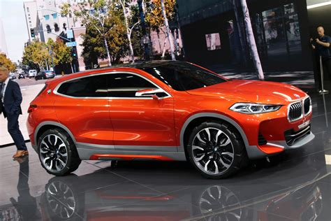 Bmw X2 Photo by New Bmw Concept X2 Photos Live From 2016 Auto Show