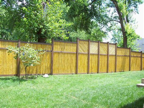 bamboo fencing best decoration long garden bamboo fence decosee com