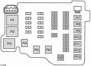 2013 Ford Fiesta Fuse Box Diagram
