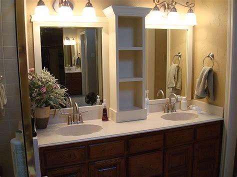 change     bathroom   vanity mirrors