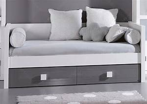 Banquette De Rangement : lit banquette design avec tiroir lit pour studio chez ksl living ~ Teatrodelosmanantiales.com Idées de Décoration