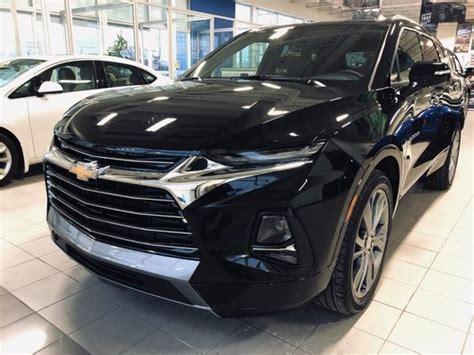 New Chevrolet Blazer Premier Black