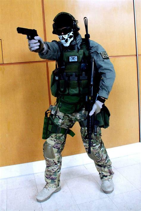 Cod Modern Warfare 2 Ghost Comic Fiesta 2011 By Hangmen13
