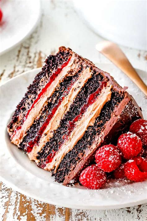 chocolate raspberry cake  raspberry jam chocolate