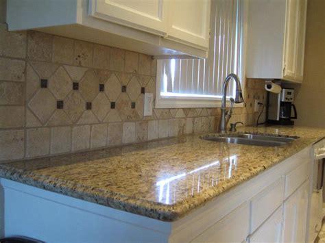 travertine kitchen backsplash ideas travertine backsplash with marble cut to match 6355