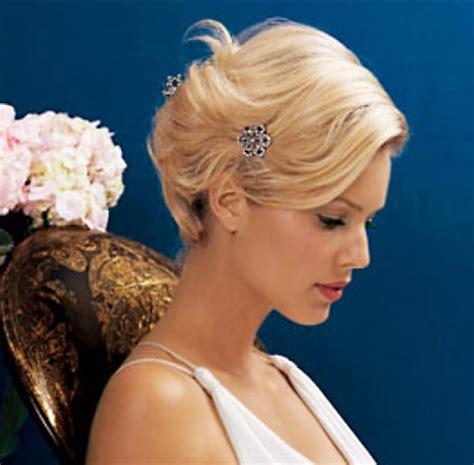 chic  romantic   ideas  wedding hairstyle