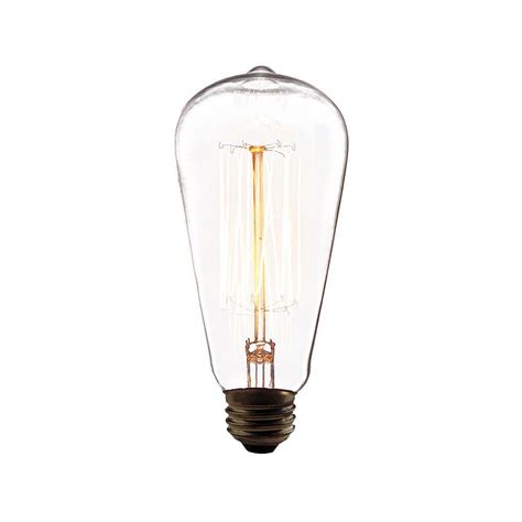 eurofase 60 watt incandescent a19 a line light bulb retro