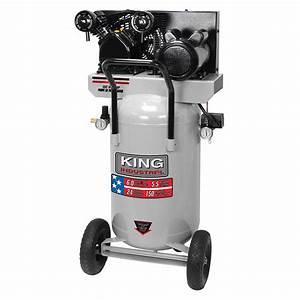5 5 Peak Hp 24 Gallon Air Compressor King Canada