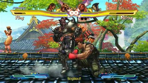 Street Fighter X Tekken Pc Armor King Youtube