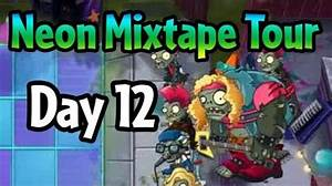 Video Plants vs Zombies 2 Neon Mixtape Tour Day 12
