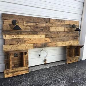 rustic wooden headboards best 25 rustic wood headboard ...