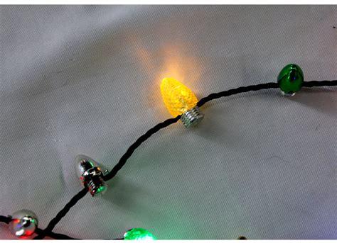 8 flashing light holiday 46cm led christmas light necklace