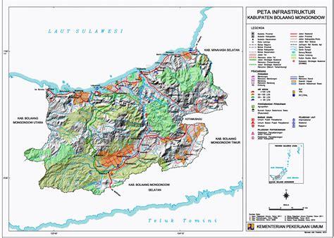peta kota peta kabupaten bolaang mongondow