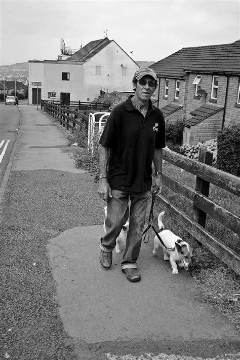 Free photo: man, walking, dogs, male, person, walk, black
